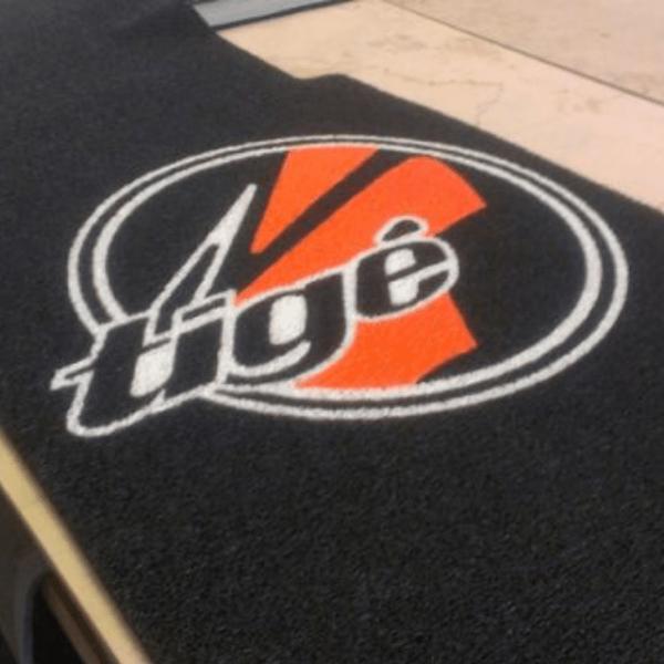 Apply Logo on Boat Carpet
