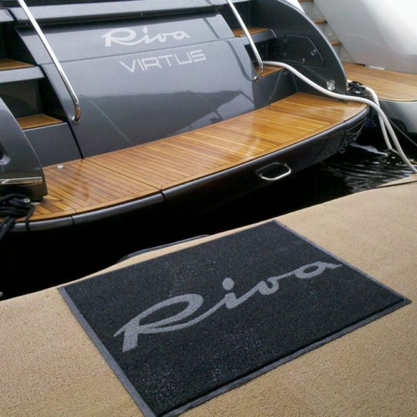 DECKadence Synthetic Boat Carpet With Cool Logo