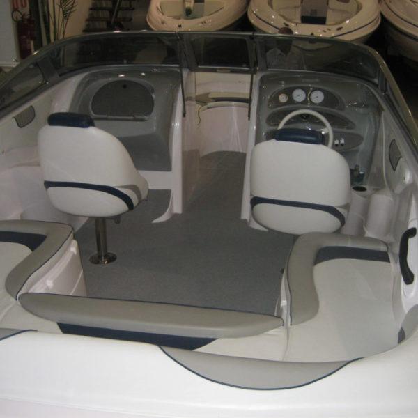 Grey DECKadence Synthetic Boat Carpet