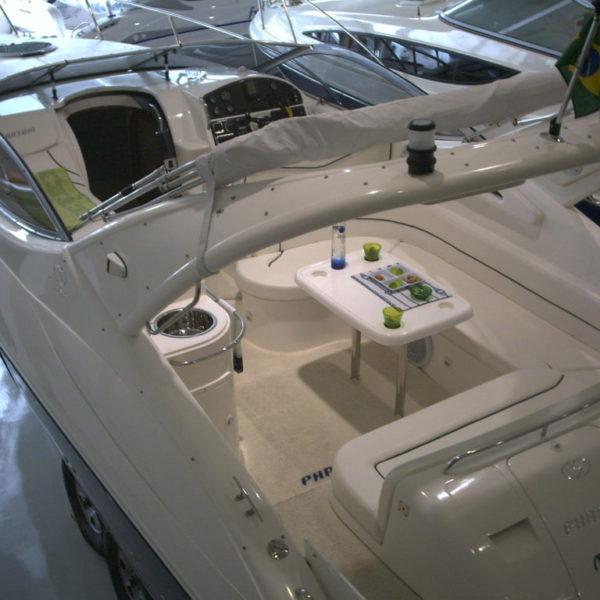 white DECKadence Synthetic Boat Carpet