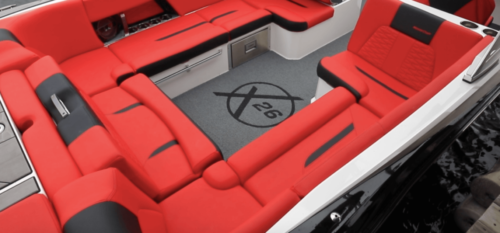 DECKadence Synthetic Boat Carpet on a boat deck